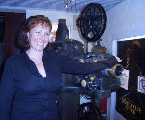 Frau Keppler will sich nie von der Kinomaschine trennen