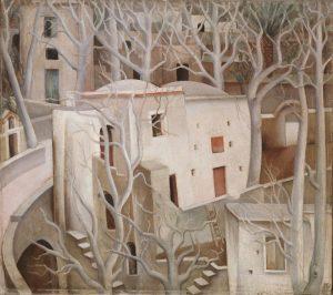 Anita Rée_Weiße Nussbäume_1922-1925, Copyright Hamburger Kunsthalle