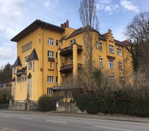 Künstlerhaus Dresden-Loschwitz. Foto: Thorsten Preuss